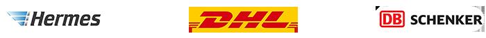 logos von versanddienstleister